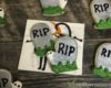 Halloween Tombstone Sugar Cookies