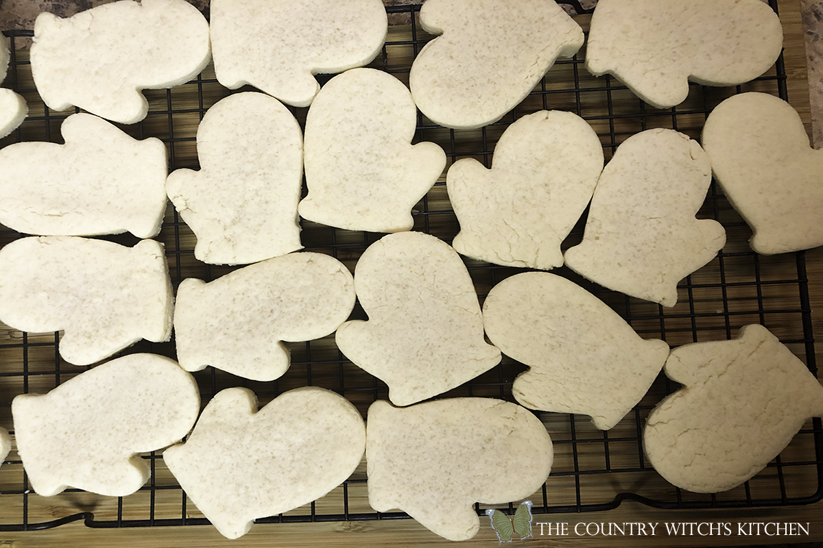 baked cut out sugar cookies
