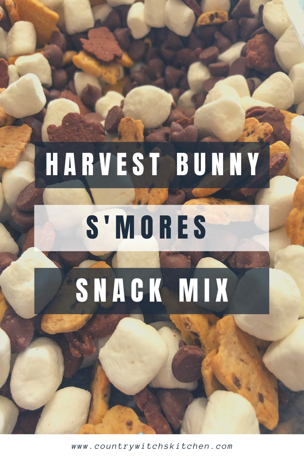 This s 'mores snack mix is the perfect mix of chocolate, marshmallow, and graham crackers for all of your fall adventures. #smores #snackmix #chocolatetreat #trailmix