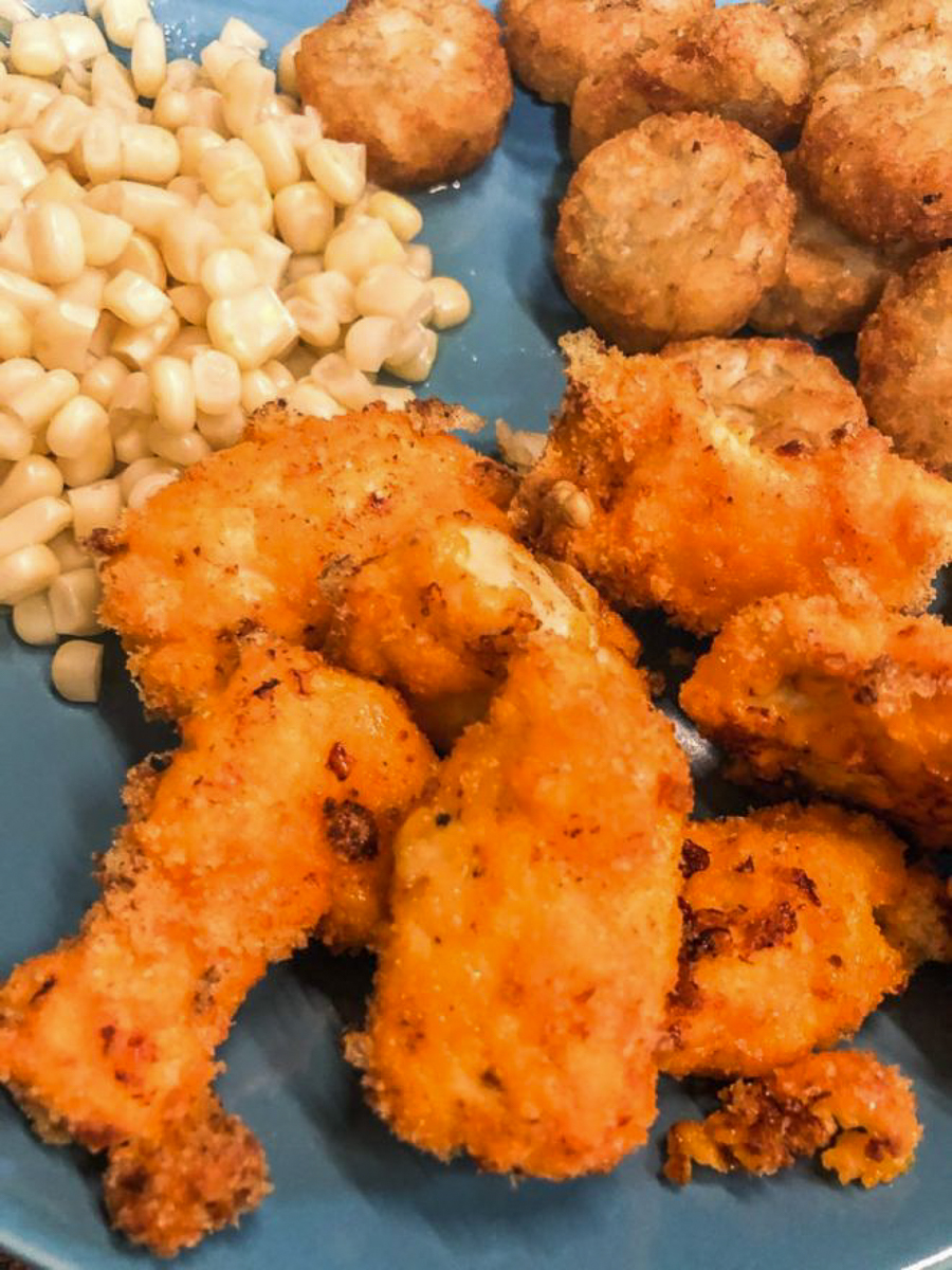 air fryer cheeto chicken